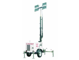 Stay productive with large, portable job-site lighting